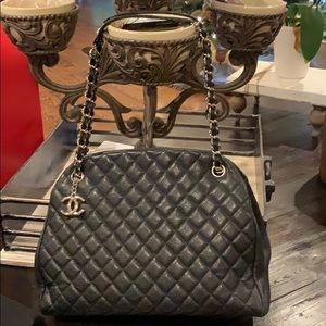 Chanel Mademoiselle large bowler bag